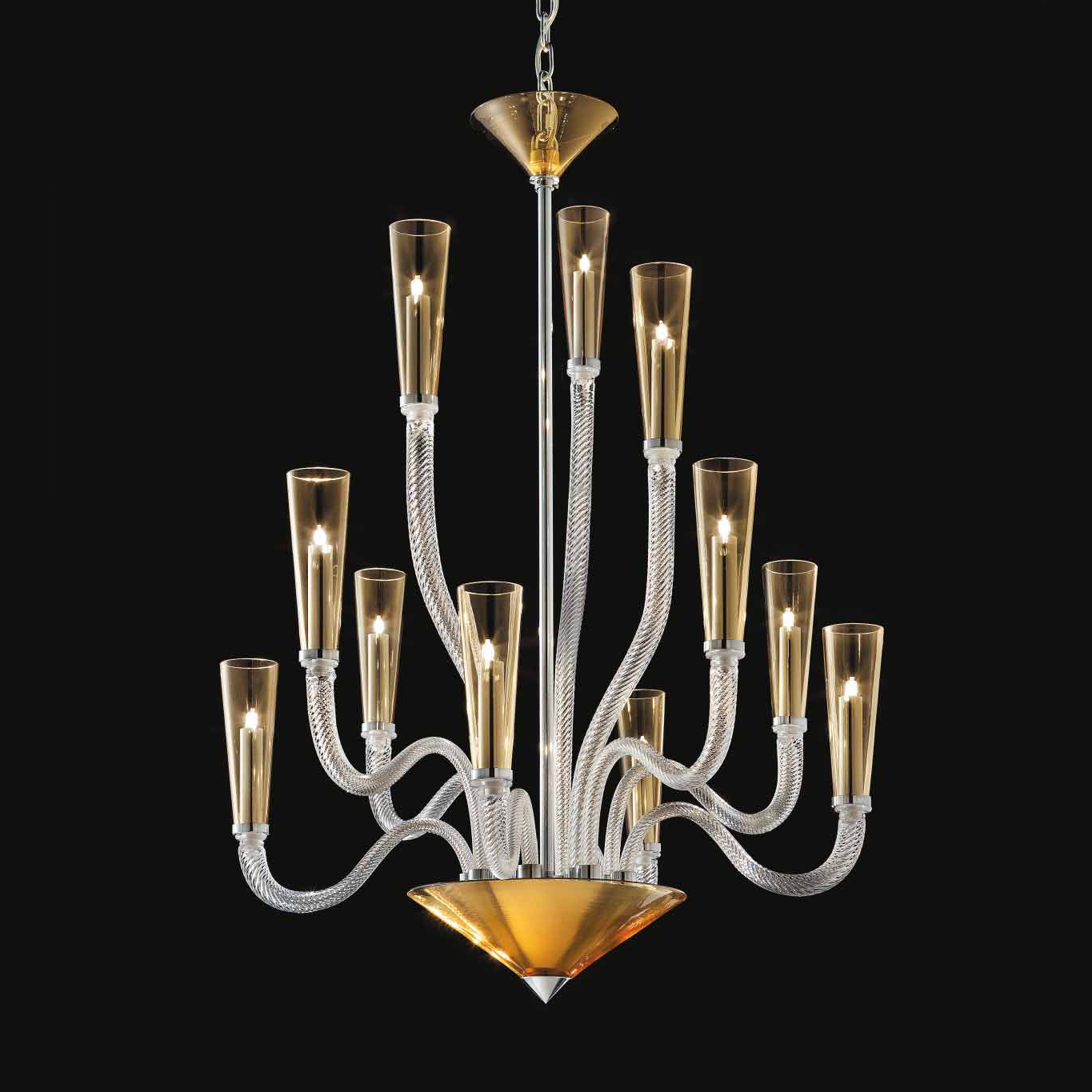 Chandelier Pure Joy Interior Design